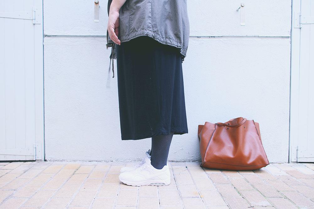 Zapatillas blancas y básicos para empezar el año