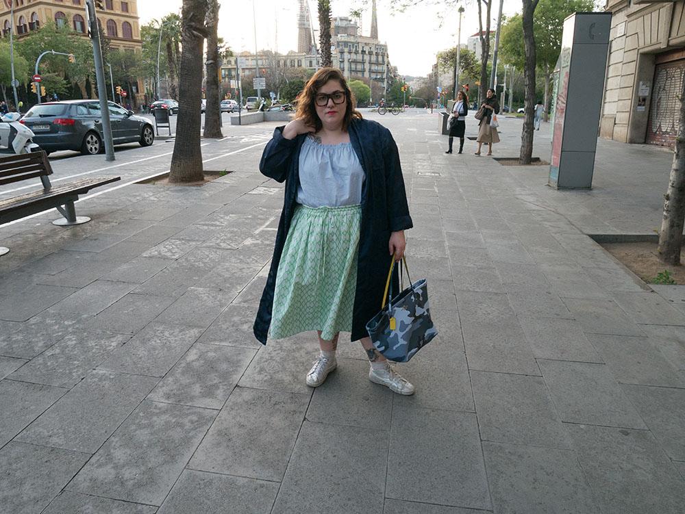 Lo que me gusta una falda