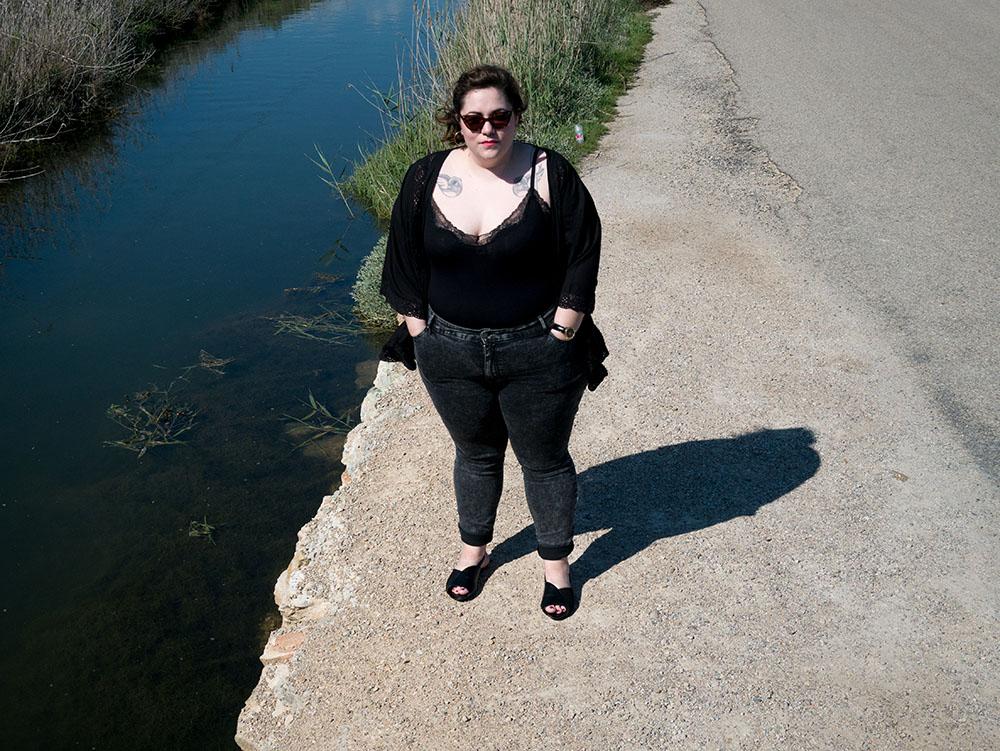 Kimono y Body Negro