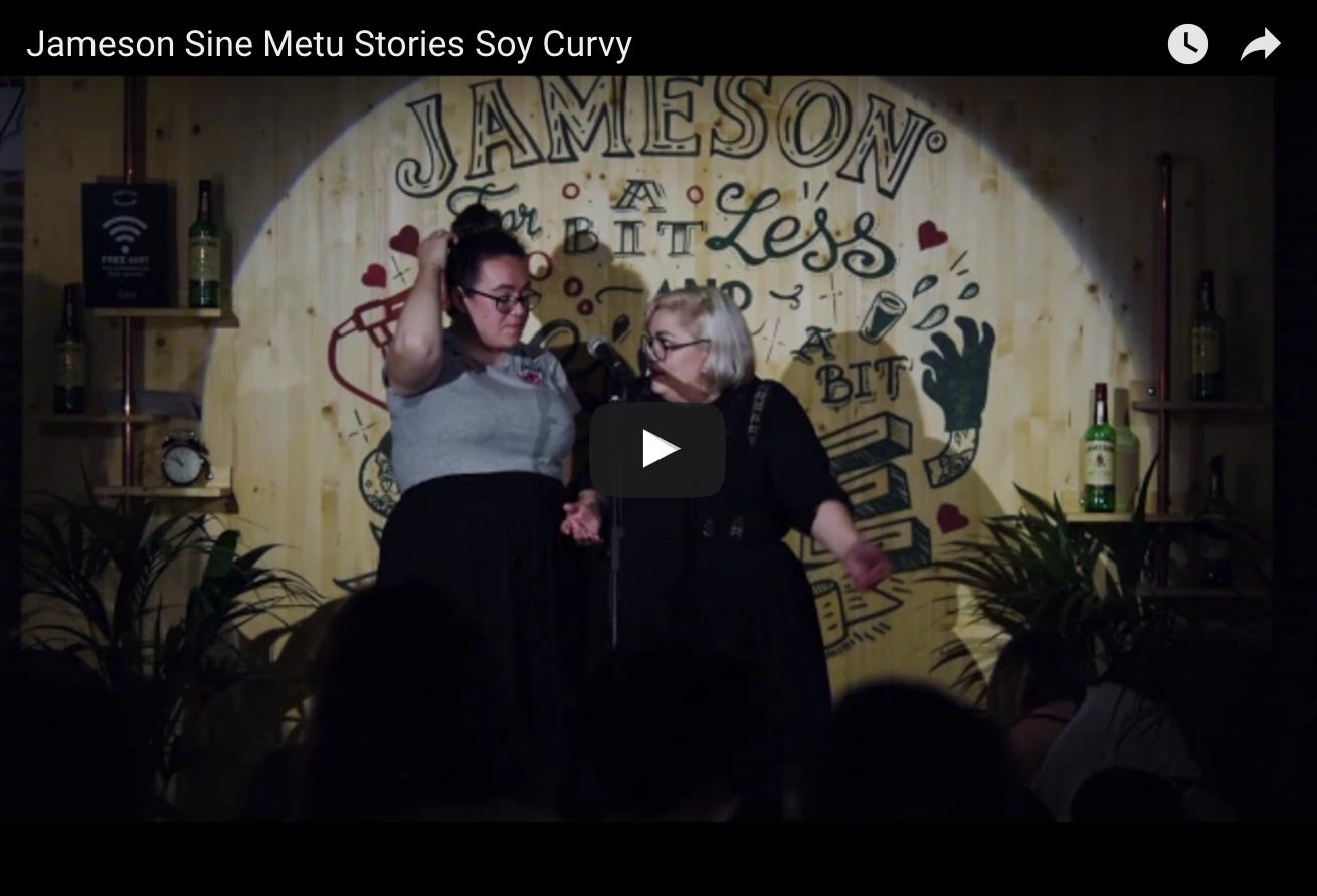El día que contamos en el Jameson Sine Metu Stories cómo nació soy curvy