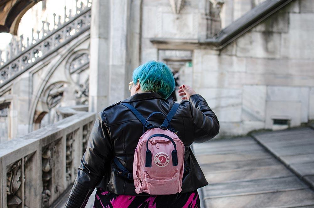 Vestido Zombie Rosa en el Duomo1