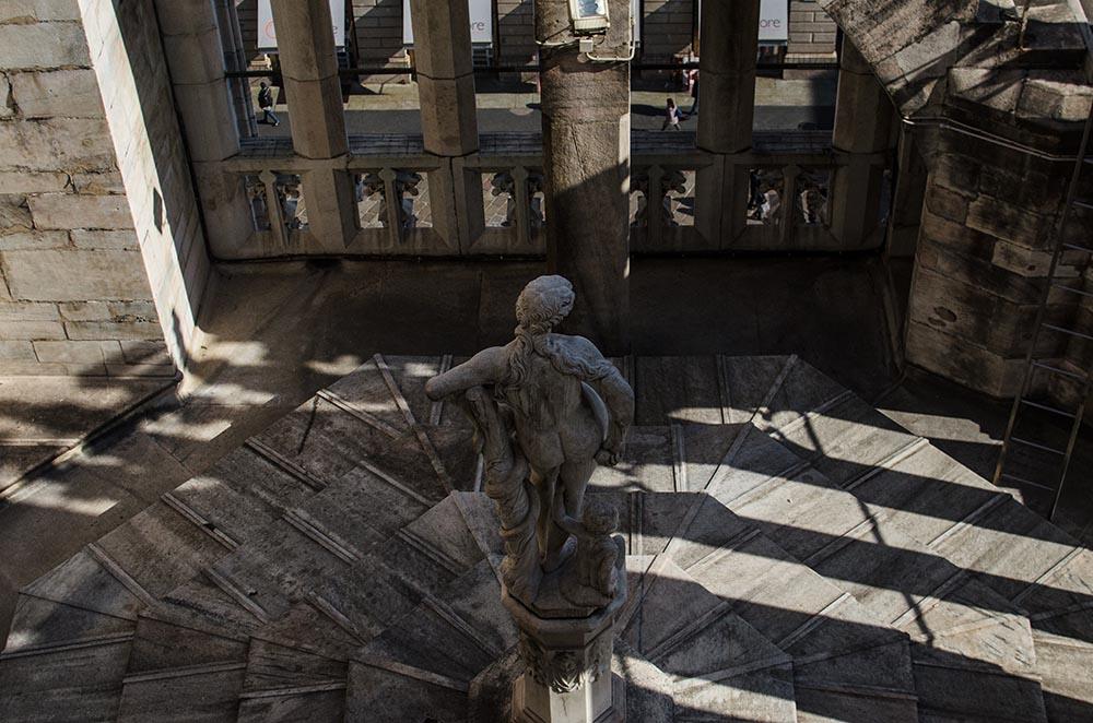 Vestido Zombie Rosa en el Duomo3