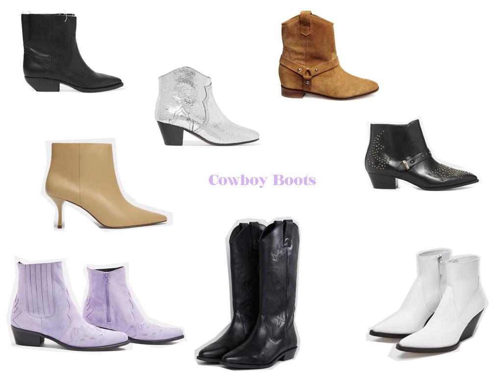 Vuelven las botas cowboy